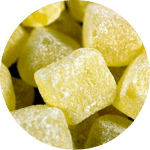 7. Pineapple Cubes